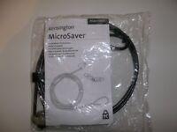 Kensington MicroSaver Laptop Lock - 2 keys - Brand New