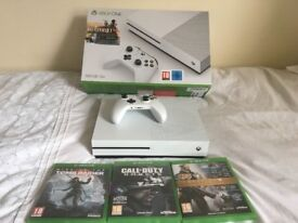 Xbox One S 500GB - Boxed with 3 games