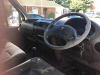 Selling spare of repair Renault master lwb semi high top van