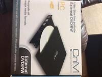 External DVD/RW drive