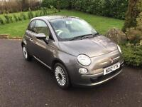 2012 Fiat 500 1.2 Lounge lightly damaged repairable, only axle damage