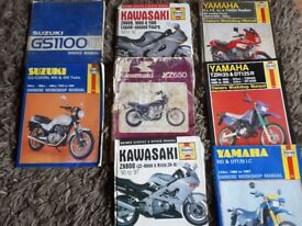 Haynes bike manuals