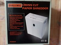 Challenge Cross Cut Paper Shredder