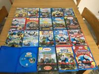 19 Thomas and friends dvds