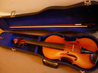 "151/2"" viola -made by Andrew Schroetter 1990 -a well-crafted and beautiful-sounding instrument"