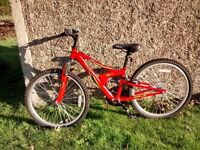 Kids red bike for sale