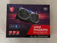 AMD Radeon RX 6700XT Graphics Card - MSI