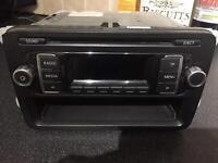 Vw genuine cd radio unit