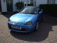 MG TF Spark 1.8 2005 £2,500.00 . Millage 33,000