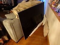 """Samsung 3D LED 65"""" wall mounted television"""