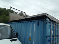 mercedes sprinter will fit others, alloy flat bed only used for pallets £250