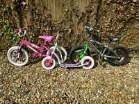 Boy & girls bike and scooter - magna