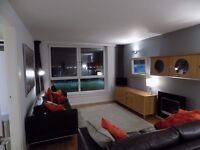 West end Jordanhill, Lovely sunny one bedroom flat, stunning views, newly decorated and furnished.