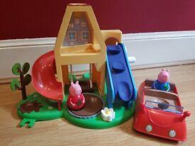 PEPPA PIG WEEBLE HOUSE & CAR