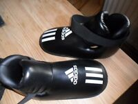 ADIDAS bottillons de full-contact super safety kicks xl