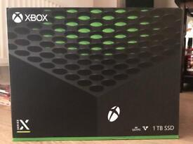 XBOX SERIES X 1TB **New & Sealed Receipt Included**