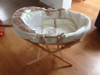 Mamas and papas Moses basket