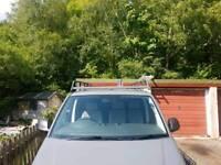 Rhino roof rack for swb vw transporter
