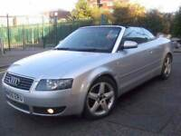 AUDI A4 1.8 T SPORT CONVERTIBLE CABRIOLET •••• £1495 ONLY •••• 3 DOOR COUPE