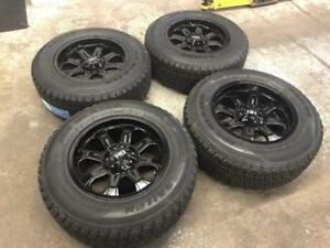 "18"" FAST HD Series Wheels 6x135 and Winter Tire Package 275/65R18 (FORD F-150) Calgary Alberta Preview"