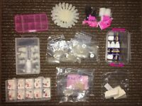 HUGE Gel Nail Art Kit FULL off everything you need and more! Please see pics