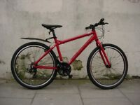 Upgraded Mens 27.5 Hybrid/ Commuter Bike by Carrera, Red, New! JUST SERVICED/ CHEAP PRICE!!!!!!!!!!