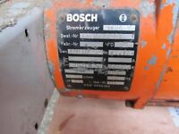 Bosch Generator with Briggs & Stratton engine