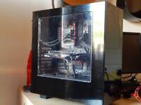 Custom built high end gaming PC i5 4690k, GTX 970 Windows 10 installed