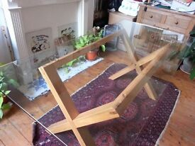 Glass table - excellent condition