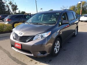 2011 Toyota Sienna NIcely equipped with DVD Player!