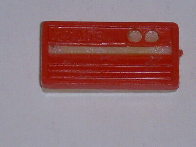 VINTAGE 1960'S TRESSY CRICKET DOLL RED & WHITE TRANSISTOR RADIO TOY, EXCELLENT!