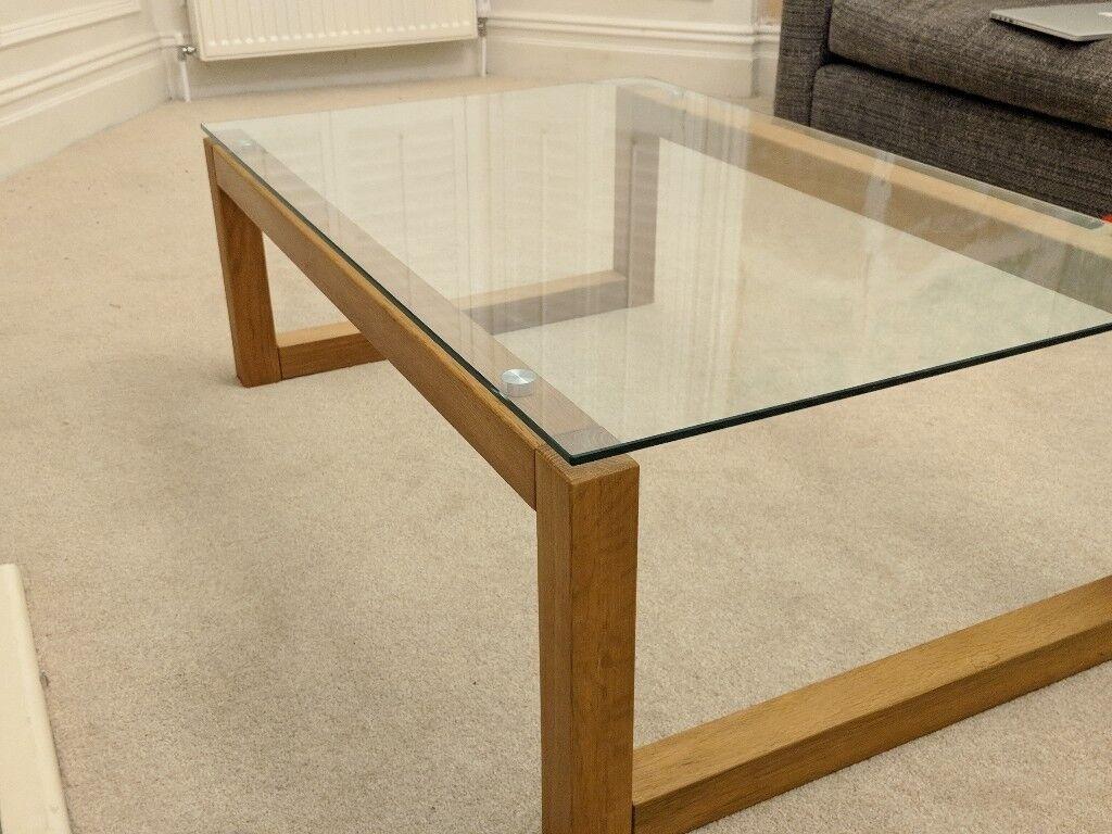 Oak And Gl Coffee Table Design Ideas