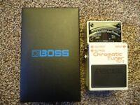 Boss TU-3 Chromatic Tuner Guitar Effects Pedal