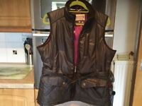 """TAYBERRY wax style gilet size large 22"""" pit - pit. Loads of pockets, IMMACULATE condition."""
