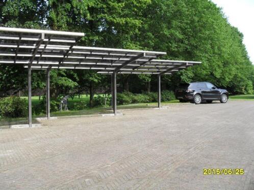 ≥ Carports, overkappingen Aluminium design op twee staanders ...