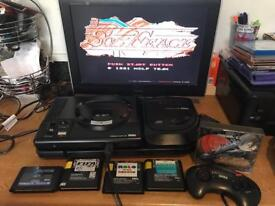Sega Megadrive & mega cd console & games