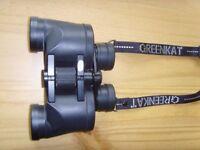 Greencat 8x30 multi coated binoculars excellent condition.