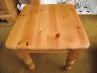 WOODEN OCCASIONAL SIDE TABLE