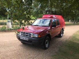 Ford RANGER 4X4 TURBO DIESEL fire truck 19,000 miles from new showroom condition