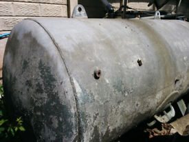 Free large steel water tank for collection only