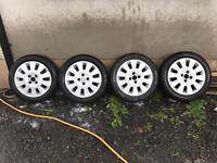 Vauxhall Corsa SXI alloys
