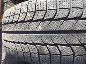 4 pneus 235/55r19 michelin en bonne etat