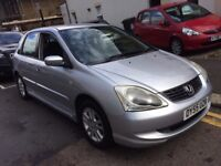 HONDA CIVIC 1.7 DIESEL 2005 FULL HISTORY LONG MOT CAT D BARGAIN