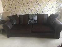 2 year 4 Seater Sofa Perfect Condition Includes 5 Year Insurance Protection DFS