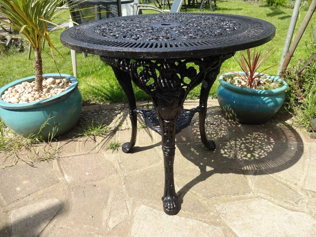 cast iron britannia table s goff son london