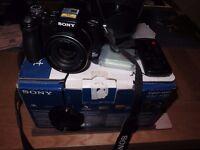 SONY CYBERSHOT DSC-H50 9.1mp Bridge camera as new