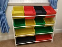 4 tier childrens storage unit