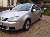 Silver , VW Golf MATCH 1.6 FSI, Automatic , Petrol, 5 doors hatchback ( 57 2007) low mileage