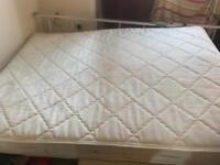 Free clean king size mattress!