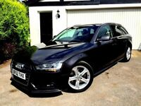 **1 PREV OWNER** 2012 AUDI A4 SE 2.0 TDI ESTATE AVANT LAVA GREY 140 BHP MANUAL